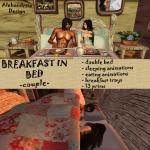 Breakfast in Bed - Couple 4 sl