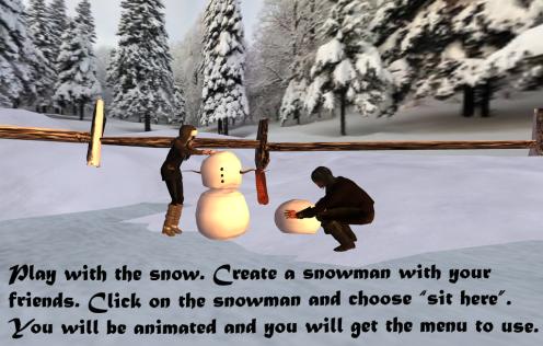 create snowman
