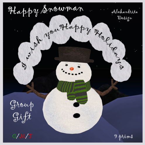 Group Gift - snowman