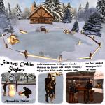 snowy cabin skybox - 4 sl m