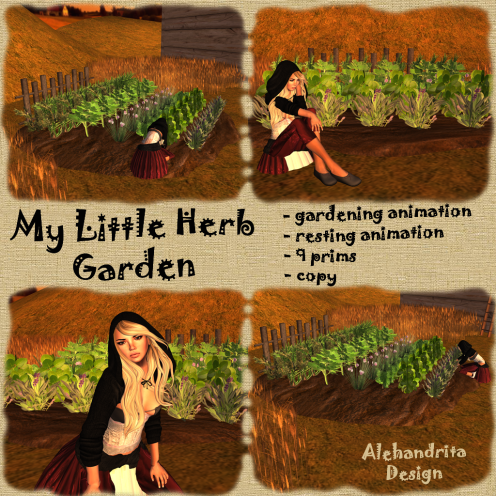 My little herb garden 4 sl