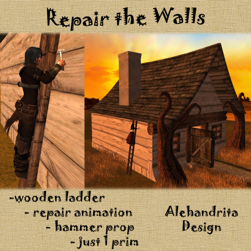 Repair the walls