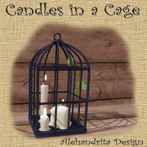candles in a cage 4 slm